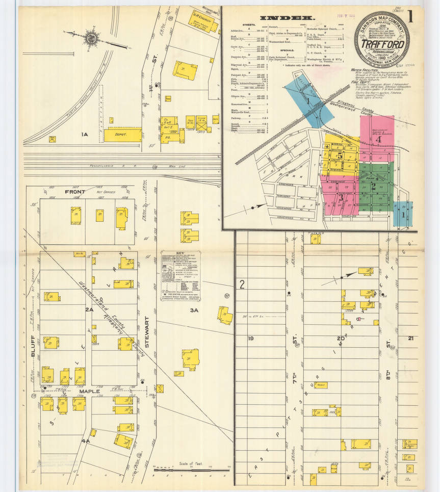 Trafford-1910_sheet01 - Digital Map Drawer - Penn State