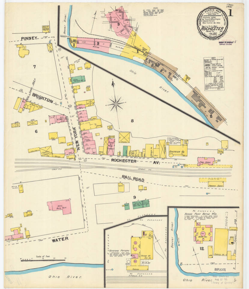 Rochester-1892_sheet01 - Digital Map Drawer - Penn State University