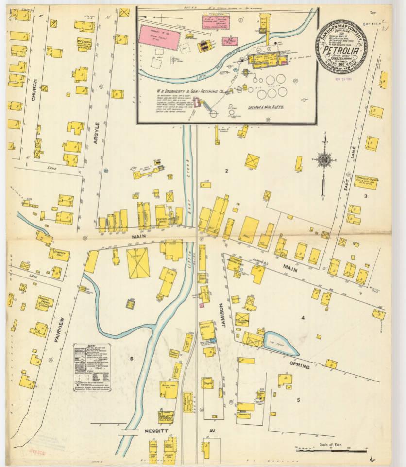 Petrolia-1910_sheet01 - Digital Map Drawer - Penn State University ...