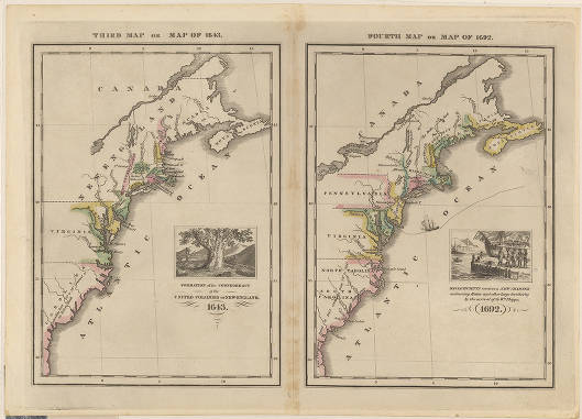 Third map, or map of 1643 : [of the east coast of the United ...