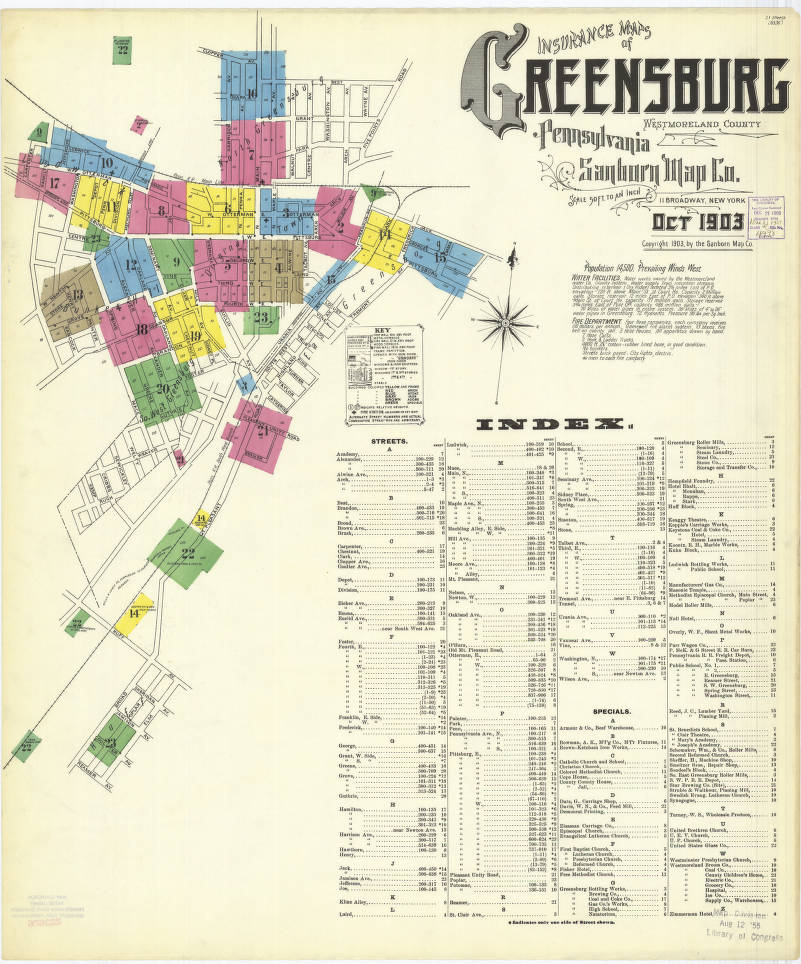 Greensburg-1903_sheet01 - Digital Map Drawer - Penn State