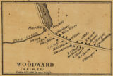 Woodward, Haines [Township]; Topographical map of Centre County, Pennsylvania; Topographic map of Centre County,...