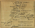 Eagleville, Liberty [Township]; Topographical map of Centre County, Pennsylvania; Topographic map of Centre County,...