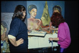 Evoke/Invoke/Provoke (Vanderbilt) : Judy Chicago and artist discuss painting in progress