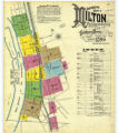 Insurance maps of Milton, Northumberland Co., Pennsylvania, Sept. 1896