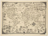 World wonders : a pictorial map