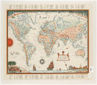 Van Loon's geography : [map of the world]