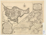 A plan of the city & fortifications of Louisburg : from a survey made by Richard Gridley,...