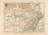 A general map of the middle British colonies in America : viz. Virginia, Maryland, Delaware,...