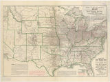 James T. Hair Company's Map showing the territory covered by their hotel register business in that...