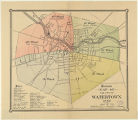 Kimball's map of the city of Watertown, 1889.