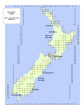 New Zealand cadastral map 1:50 000.