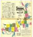 Insurance maps of Stroudsburg and East Stroudsburg, Monroe County, Pennsylvania, Nov. 1912.