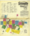 Insurance maps of Greenville, Mercer County, Pennsylvania, Feby. 1911