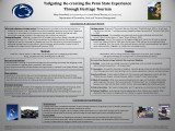 Tailgating: Re-creating the Penn State Experience Through Heritage Tourism
